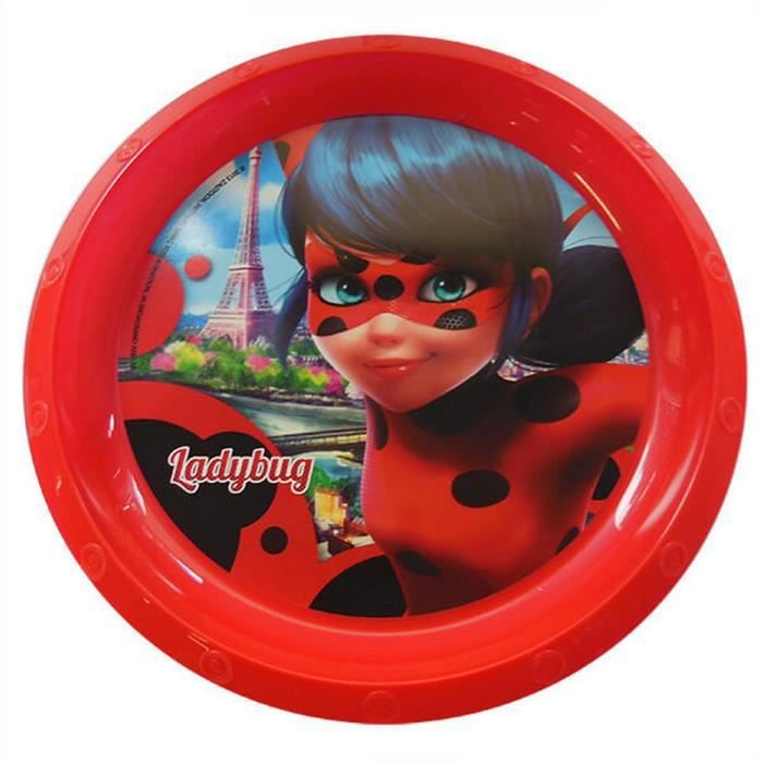 Assiette Plate Miraculous Ladybug Repas Enfant Achat Vente