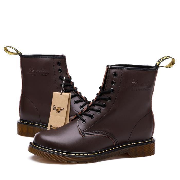 GLAM®les Hommes de bottes pour Hommes et des bottines lacées en cuir pour dames haut wpUlBVZ