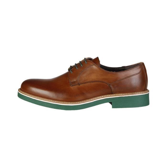 Made in Italia - Chaussures à lacet pour homme (EMILIO_COGNAC) - Brun mM2mqB