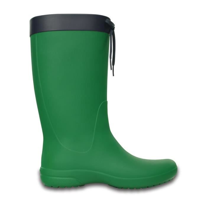 Crocs Freesail Women's Rain Boot, Green