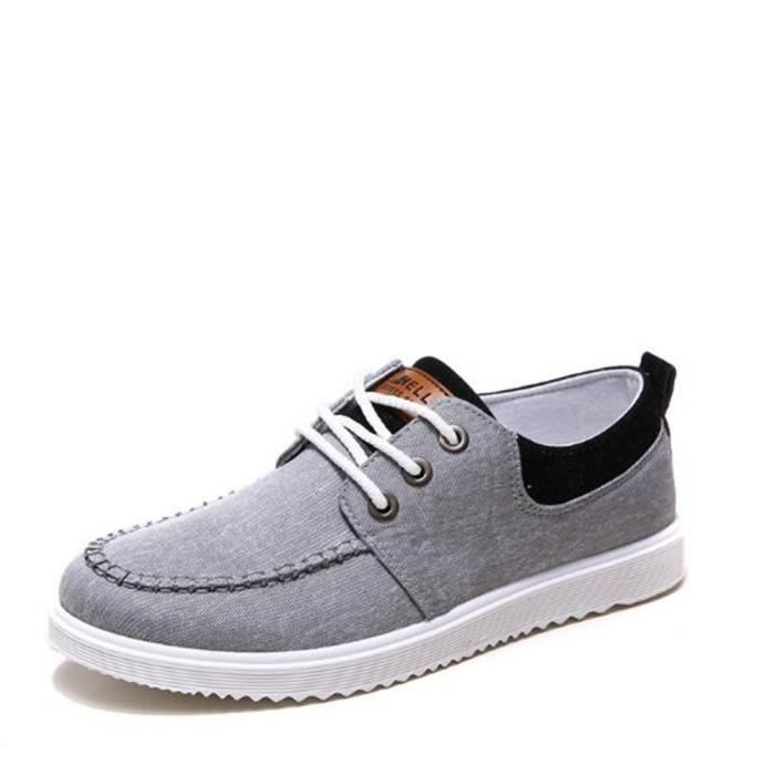 2017 44 39 Grande Confortable Sneaker Mode Chaussure Sneakers Hommes Antidérapant Taille Nouvelle RwCxnO1q4