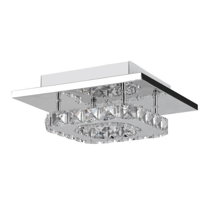 Lustre Cristal De Lampe Plafond Led Design En 12w 35lqajcr4