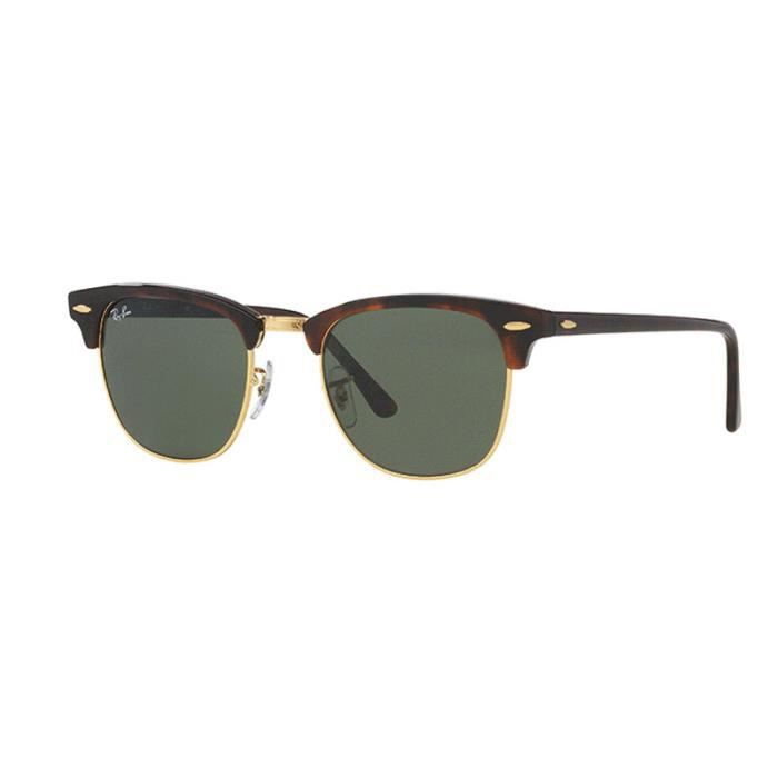 51mm RAY-BAN CLUBMASTER Lunettes de soleil RB3016 W0366