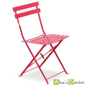 Salon de jardin rouge - Achat / Vente Salon de jardin rouge pas cher ...