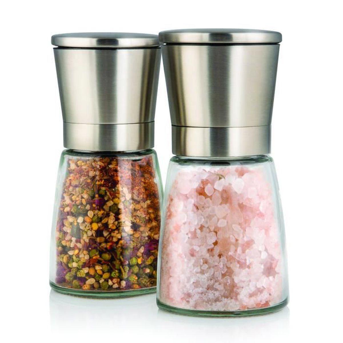 moulin a sel et poivre achat vente moulin a sel et poivre pas cher soldes d s le 10. Black Bedroom Furniture Sets. Home Design Ideas
