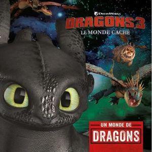 Livre 3-6 ANS Dragons 3. Le guide officiel