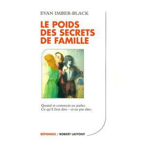 AUTRES LIVRES Le poids des secrets de famille