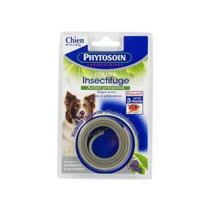 PHYTOSOIN Collier insectifuge réfléchissant - Pour chien moyen et grand chien