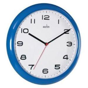 HORLOGE - PENDULE Acctim 92/ 308 Aylesbury Horloge murale Bleu