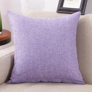 Coussin deco violet - Achat / Vente pas cher