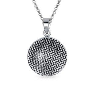 4 Pcs vintage en métal argenté laiton Celtique Médaillon Perles Perles Cage Pendentif Charme