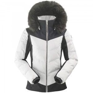 BLOUSON MANTEAU DE SPORT Veste De Ski Eider Monterosa Fur 2.0 Blanc Femme a2312264161