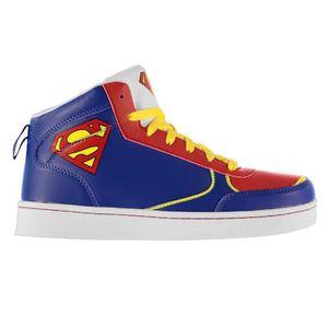 BASKET DC Comics Superman Baskets Montantes Enfant Bleu