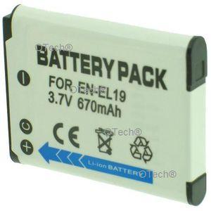 BATTERIE APPAREIL PHOTO Batterie pour NIKON COOLPIX S01