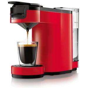 MACHINE À CAFÉ PHILIPS SENSEO Up HD7880/81 - Rouge