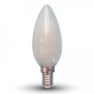 AMPOULE - LED Ampoule LED E14 4W Filament Frost blanc chaud Blan