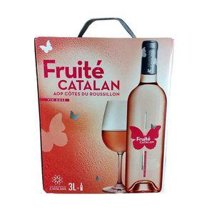 VIN ROSÉ FRUITE CATALAN Côtes du Roussillon - Vin Rosé - 3