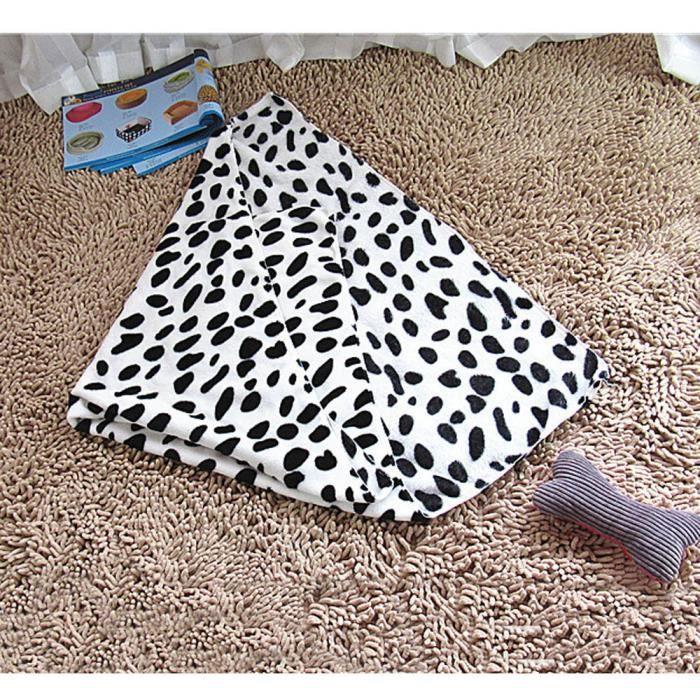 Chaud Pet Mat Petit Grand Patte Imprimer Chat Chien Chiot Fleece Couverture Souple Wh - Mcxx*1013