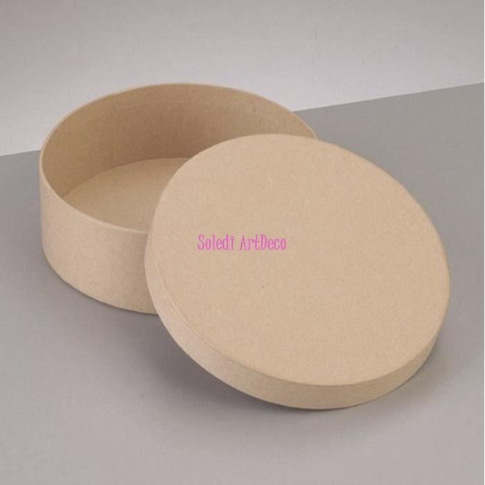 boite ronde carton achat vente boite ronde carton pas cher soldes d s le 10 janvier cdiscount. Black Bedroom Furniture Sets. Home Design Ideas