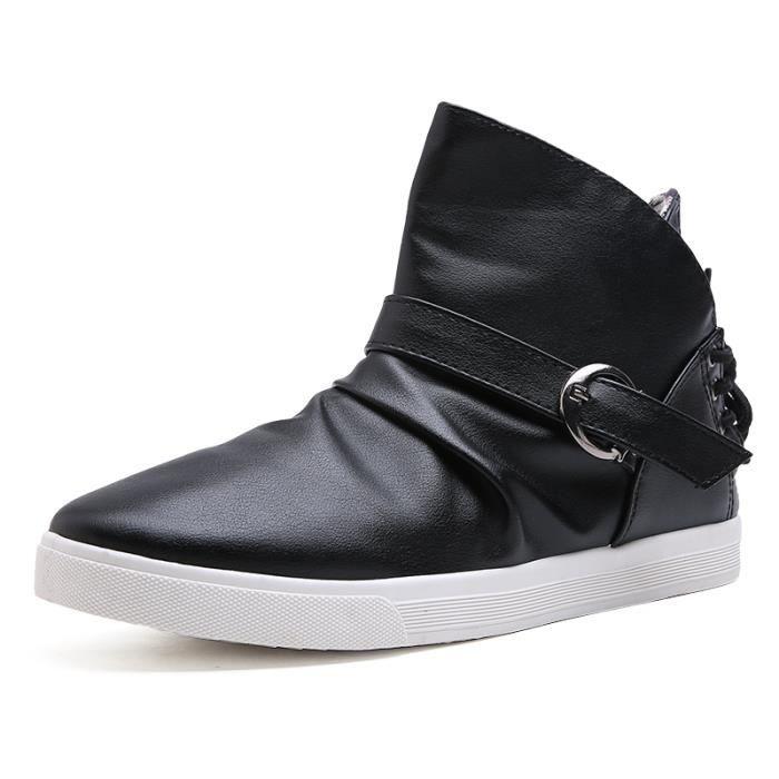 Chaussures homme Bottes courtes Bottes hiver Chaussures étanches Bottes mode Chaussures chaudement Chaussures montantes Chaussures vXKmZqC64d