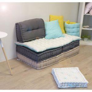 housse de coussin bleu canard achat vente housse de coussin bleu canard pas cher black. Black Bedroom Furniture Sets. Home Design Ideas