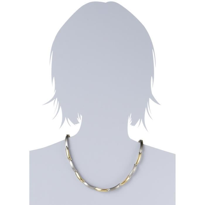 Boccia Collier Titane 081703 Femmes 1AEWI0