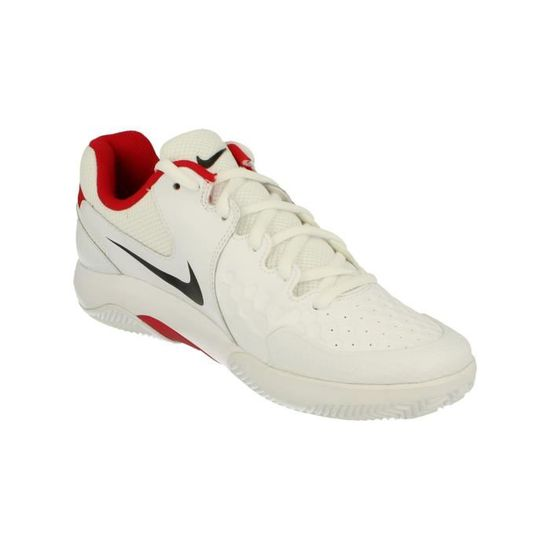 size 40 27c63 0730e Nike Air Zoom Resistance Clay Hommes Tennis Chaussures 922064 Sneakers  Trainers 116 Blanc Blanc - Achat   Vente basket - Cdiscount