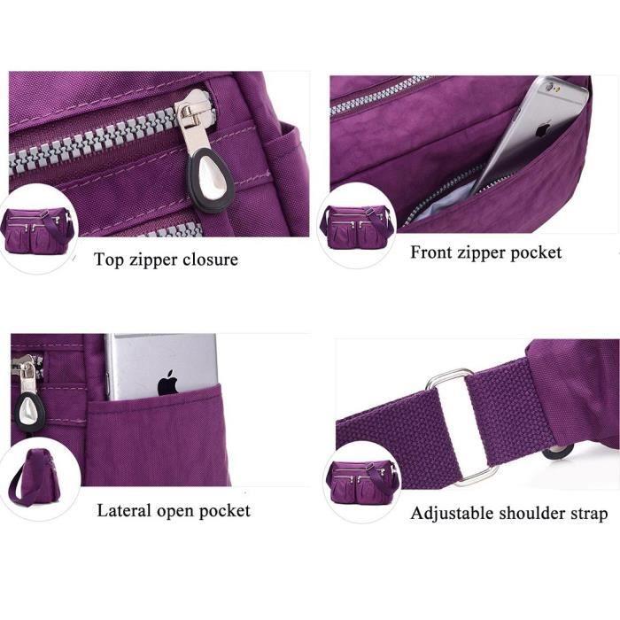 poche de Sac avec bandoulière Sac fourre 1F01ZO tout réglable décontracté multi bandoulière à d5ZRZqw