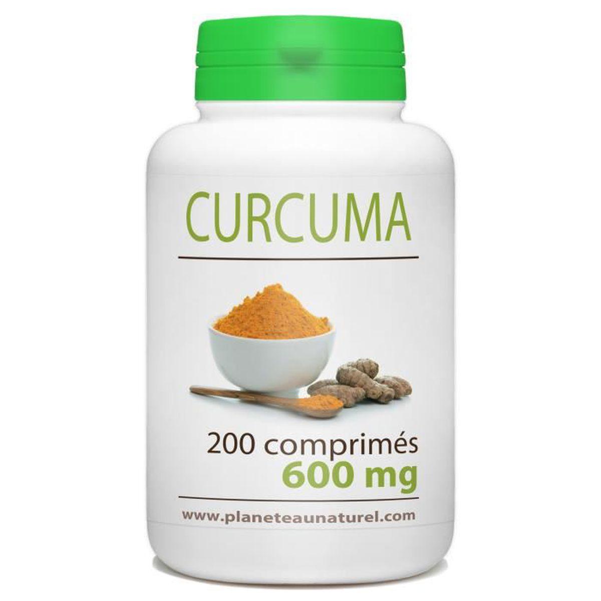 COMPLÉMENT ARTICULATION Curcuma - 600 mg - 200 comprimés