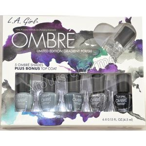 """VERNIS A ONGLES L.A. GIRL - Coffret Vernis Ongles """" Ombré …"""