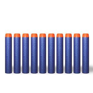 PISTOLET BILLE MOUSSE 10 Pcs Recharge mousse Darts Bullet pour Nerf N-St