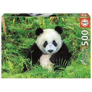 PUZZLE EDUCA - Puzzle Panda 500pcs