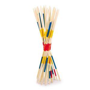 JEU SOCIÉTÉ - PLATEAU Mikados de voyage en bambou