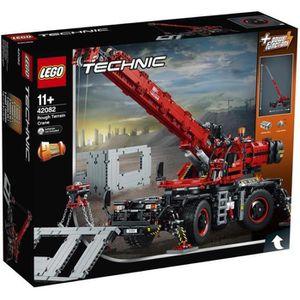ASSEMBLAGE CONSTRUCTION LEGO® Technic 42082 La grue tout-terrain