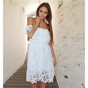 8f8097fc60c5a Robe de soiree courte bustier blanc - Achat   Vente pas cher