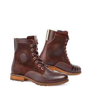 Regent REV´IT marron cuir bottes en naT0wH4qTv