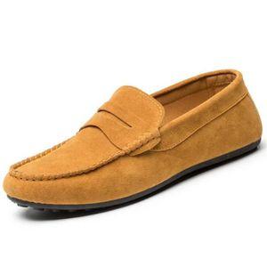 Femme Moccasins Meilleure Qualité anti-glissement Les Chaussures De Loisirs Respirant Moccasin Femmes Grande Taille 38-44,noir,42