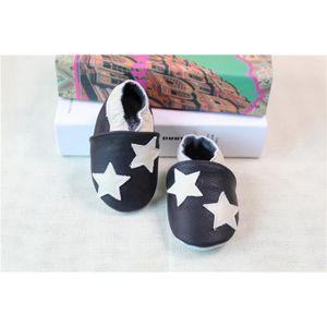 CHAUSSON - PANTOUFLE Chaussons bébé et enfant en cuir souple Chaussures
