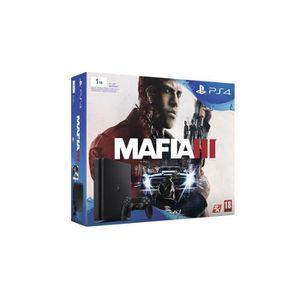 CONSOLE PS4 PS4 Slim 1to + Jeu MAFIA III Mafia 3
