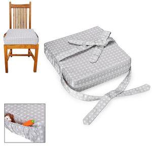 CHAISE HAUTE  Chaise de salle à manger pour bébé Coussin amovibl
