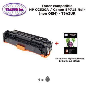 TONER Toner générique Canon EP718 Noir pour imprimante C