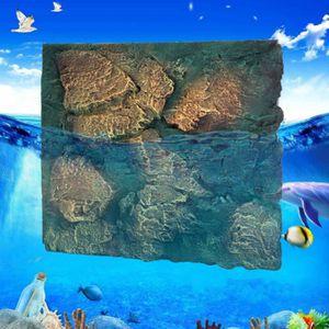 DÉCO ARTIFICIELLE TEMPSA fond de réservoir de poissons de simulation