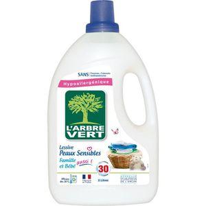 LESSIVE L'ARBRE VERT Lessive liquide - Pour peaux sensible