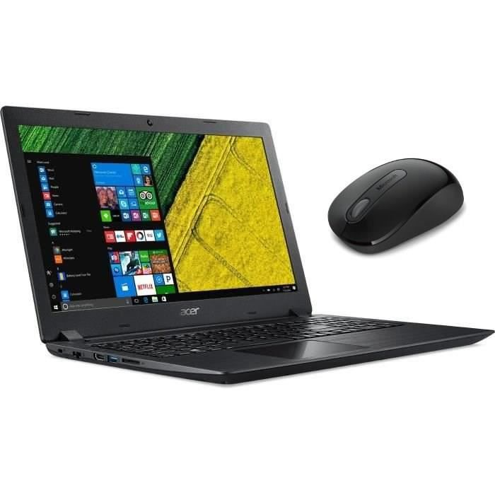 """Ordinateur Portable - ACER Aspire A315-21 - 15,6"""" - AMD A9-9420 - RAM 4Go - Stockage 1To HDD -"""