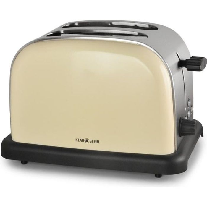 GRILLE-PAIN - TOASTER Klarstein BT-318 Grille-pain 2 tranches Multifonct 8acd011b0a03