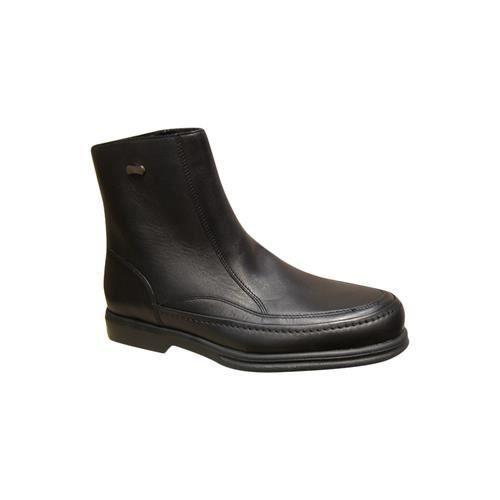 Bottine/Bootsfourrés homme SLEDGERS cuir noir