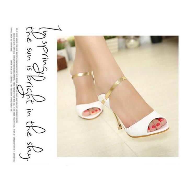 Les femmes HOT pompes de haute qualité Mode PU cuir mince haut talon pompes Chaussures Femme