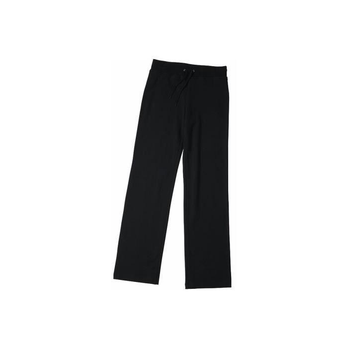 SURVÊTEMENT Pantalon jogging stretch femme - NOIR 221cf92ca44