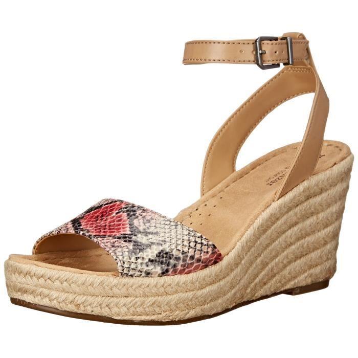 Naturalizer Sandale en coton à espadrille à note féminine Z205U SLeUGA3M3