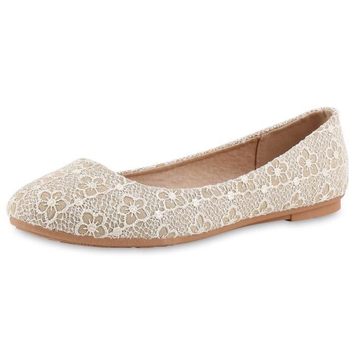 Sur Chaussures Ballerines Des 1w7f7y Taille Glissement 38 Trendtwo Femmes nwaXtXv